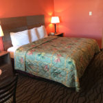 standard king bed room at Beachcomber Inn