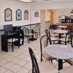breakfast area at Beachcomber Inn
