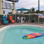 outdoor pool at Beachcomber Inn